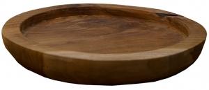 Чаша из тика Wood 30X30X5 CM