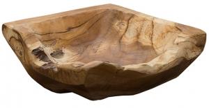 Чаша из тика Wood 20X20X5 CM