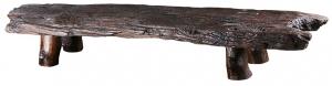 Скамья из массива вяза BF 154X34X22 СМ