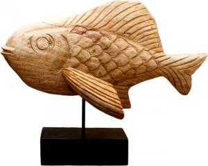 Декор из манго Fish 38X50X20 CM