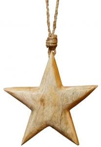 Декор звезда 15X15X CM