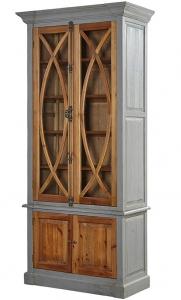 Шкаф-витрина из сосны 100X48X220 CM