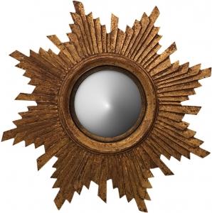 Зеркало выпуклое Antique gold Ø55 CM