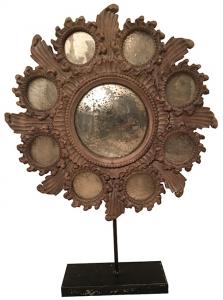 Зеркало из массива манго OLD 49X10X67 CM