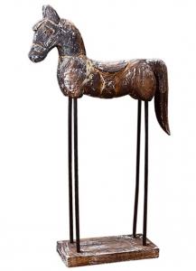 Декоративный элемент Horse 23X7X43 CM