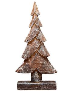Декор елка 14X6X40 CM