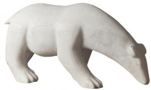 Декоративный элемент из камня Polar Bear 55X18X26 CM