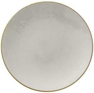 Тарелка из костяного фарфора Crushed Velvet Ø21 CM