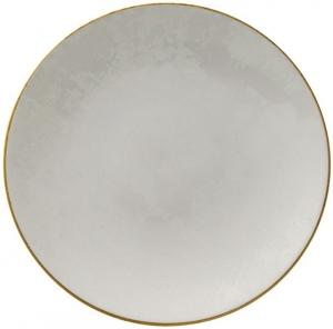 Тарелка из костяного фарфора Crushed Velvet Ø26 CM