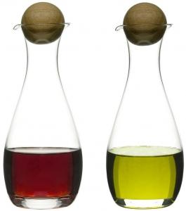 Набор ёмкостей для масла и уксуса Nature 8X8X20 / 8X8X20 CM