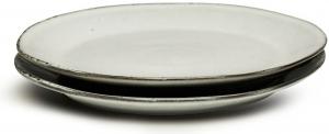 Набор из двух тарелок Nature Ø23 CM серые