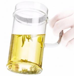 Кружка для чая с ситечком LC'003A 380 ml