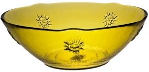 Чаша Sol Ø25 CM желтая