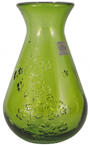 Ваза Citron Breeze 12X12X20 CM зелёный цвет