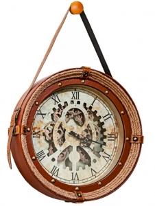 Часы в раме из пеньковой верёвки Canfranc Ø47 CM