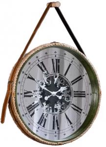 Часы в раме из пеньковой верёвки Treviso Ø63 CM