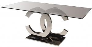 Стол с основой из нержавеющей стали Calima 200X100X76 CM