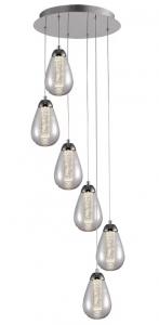 Светильник подвесной 6 LED Taccia 41X41X125 CM