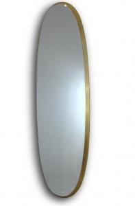 Зеркало овальное в раме из MDF Aries 136X36 CM