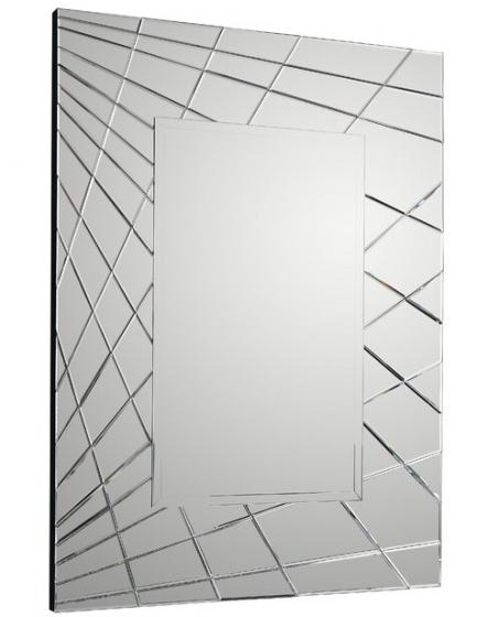 Зеркало прямоугольное в раме из зеркал Fusion 110X150 CM 1