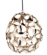 Подвесной светильник Narisa 18X18X22 CM цвета розового золота
