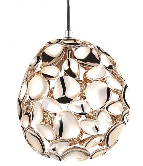 Подвесной светильник Narisa 18X18X22 CM цвета розового золота 1