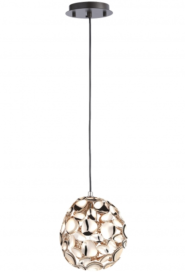 Подвесной светильник Narisa 18X18X22 CM цвета розового золота 2