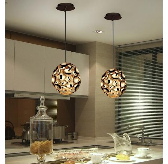 Подвесной светильник Narisa 18X18X22 CM цвета розового золота 5