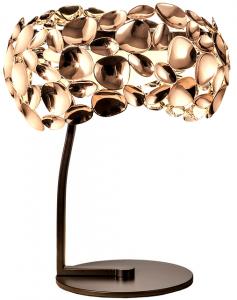 Настольная лампа Narisa 32X32X40 CM цвета розового золота
