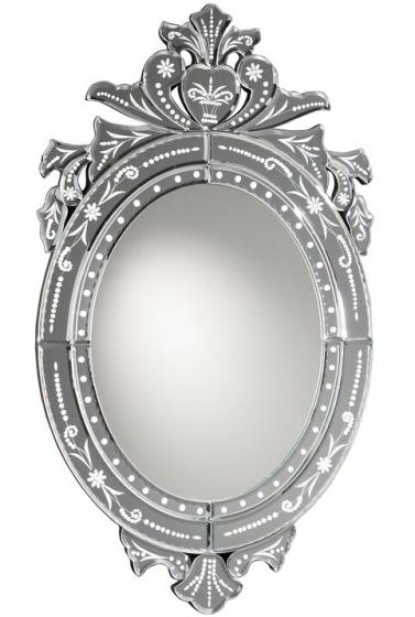 Зеркало с узорной гравировкой Midas 40X70 CM 1