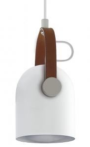 Подвесной светильник Adame 12X12X22 CM белого цвета