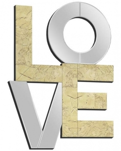 Зеркало декоративное Love 60X80 CM