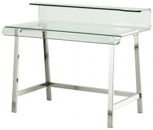 Письменный стол из изогнутого стекла Glass 110X56X90 CM