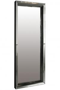 Зеркало в раме из изогнутого зеркала Irina 90X200