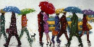 Картина Umbrellas 140X70 CM