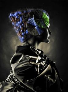 Постер на стекле Geisha 100X135 CM