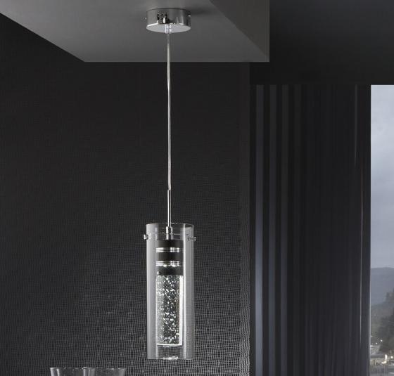 Подвесной светильник с светодиодами Bubble 11X11X41 CM 2