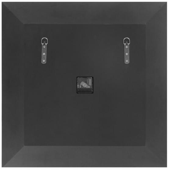 Часы настенные в раме из зеркал Lucy 60X60 CM 4