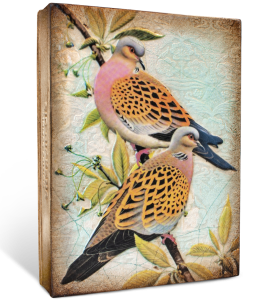 Плитка Memory Block Turtle Doves 15X20X3 CM