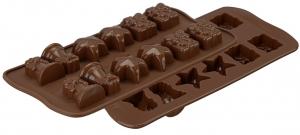Форма для приготовления конфет Christmas силиконовая