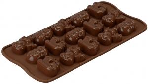 Форма для приготовления конфет Choco Winter силиконовая
