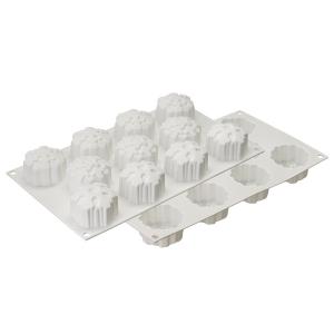 Форма для приготовления пирожных и конфет snowflakes 30,5 х 18 см