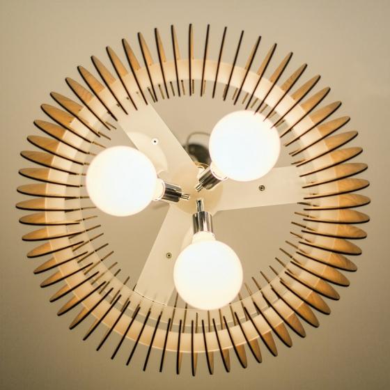 Люстра Спутник 65X20 CM цвет дуб 4