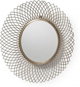 Круглое зеркало в металлической оправе Juice Ø65 CM