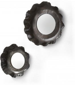Набор из 2 зеркал Karlo Ø47 Ø35 CM