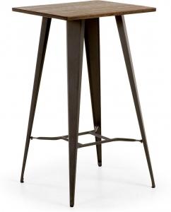 Высокий столик Malibu 60X60X104 CM черный
