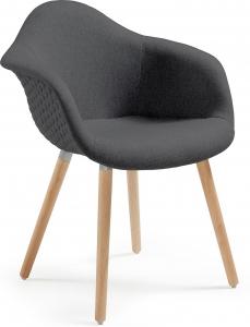 Кресло Kenna 62X61X81 CM чёрное
