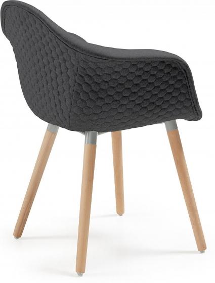 Кресло Kenna 62X61X81 CM чёрное 3