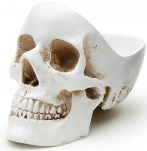 Органайзер для мелочей Skull 13X22X16 CM белого цвета