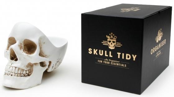 Органайзер для мелочей Skull 13X22X16 CM белого цвета 4